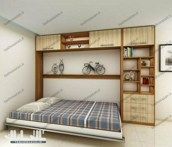 تصویر مربوط به تخت کمجا دونفره افقی مدل TSH-۹۵۱۲