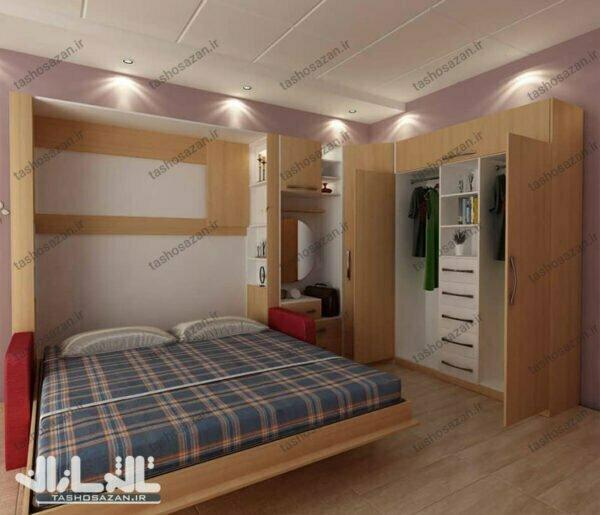 double wall bed vertica codel tsh 9418