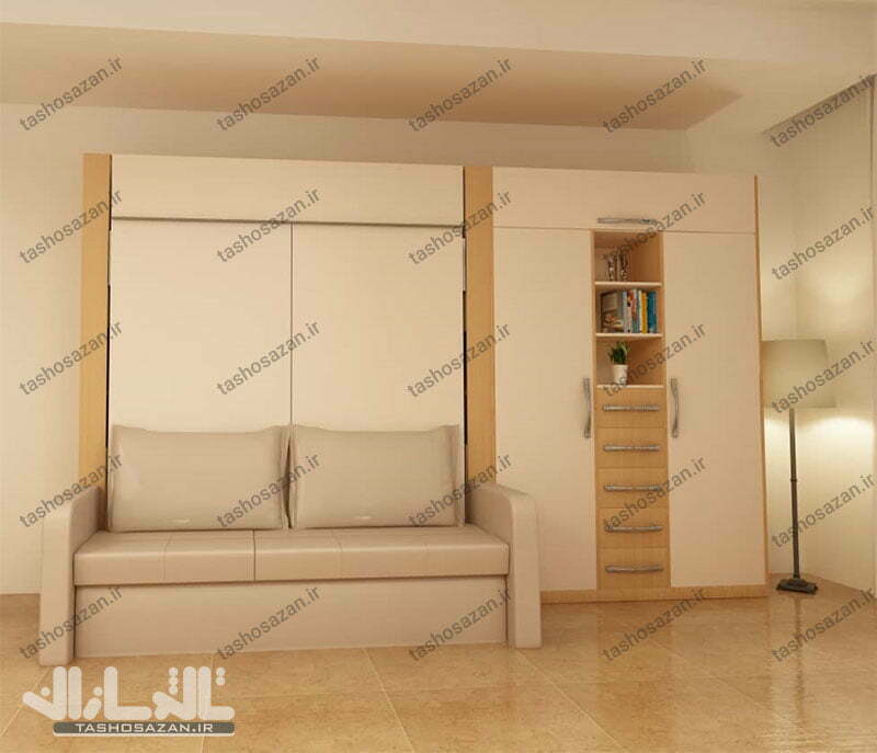 double wall bed vertical barcode tsh 9412