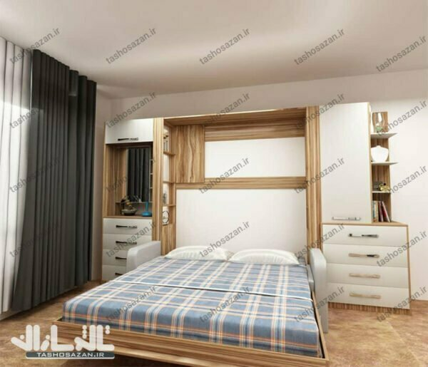 double wall bed vertical barcode tsh 9417