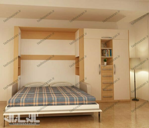 double wall bed vertical tsh 9412