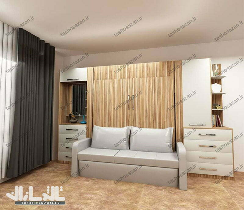 double wall bed vertical tsh 9417