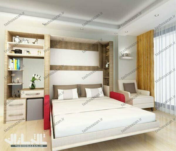 double wall bed vertical tsh 9420