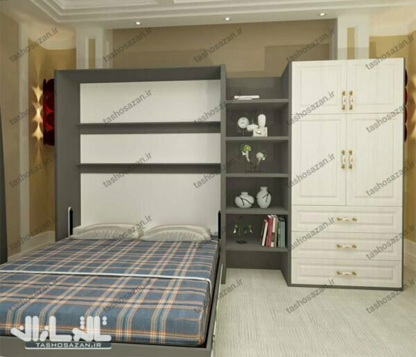 double wall bed vertical tsh 9422