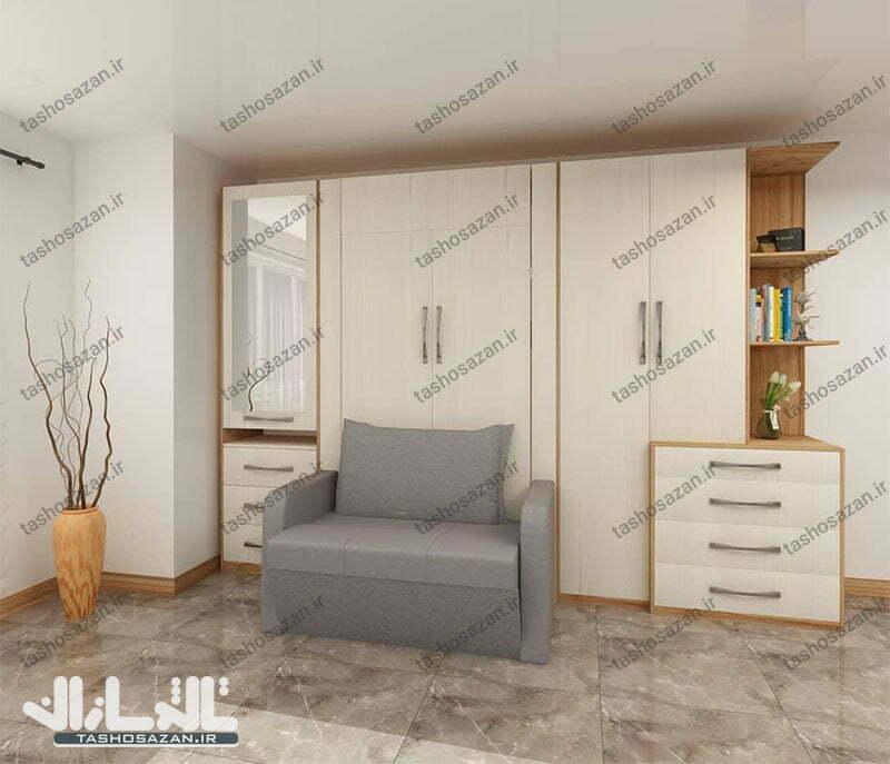 single wall bed vertical code tsh 9717