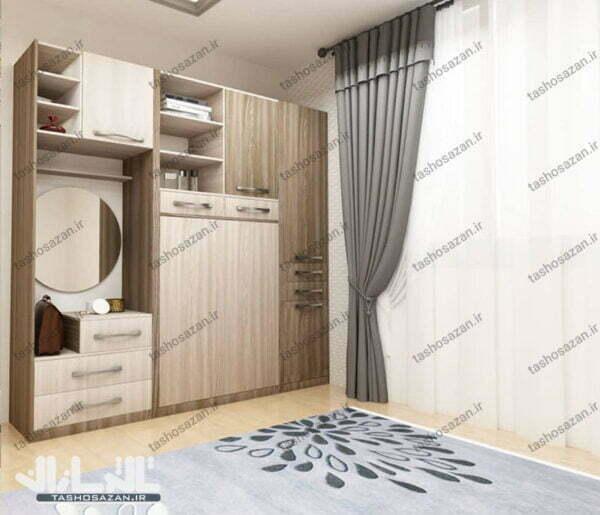 single wall bed vertical tsh 9011