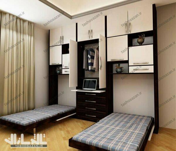 single wall bed vertical tsh 9012