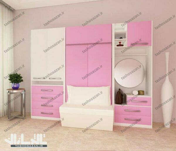 single wall bed vertical tsh 9710