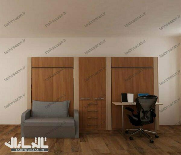 single wall bed vertical tsh 9711