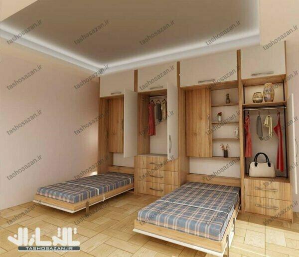 single wall bed vertical tsh 9715