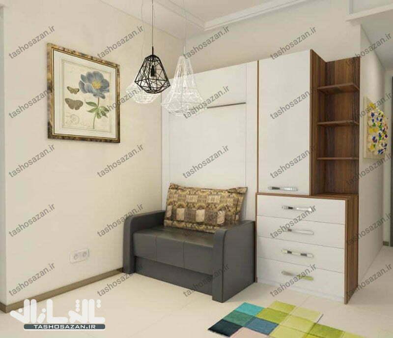 single wall bed vertical tsh 9718