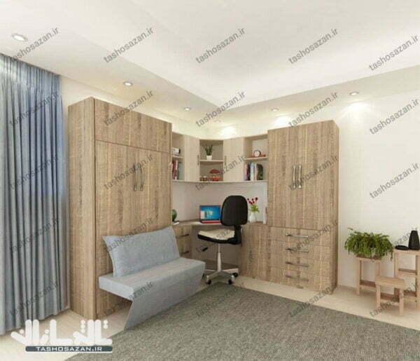 single wall bed vertical tsh 9719