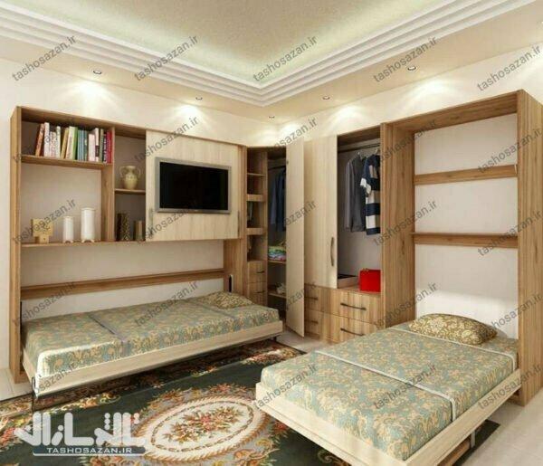 single wall bed horizontal barcode tsh 9814