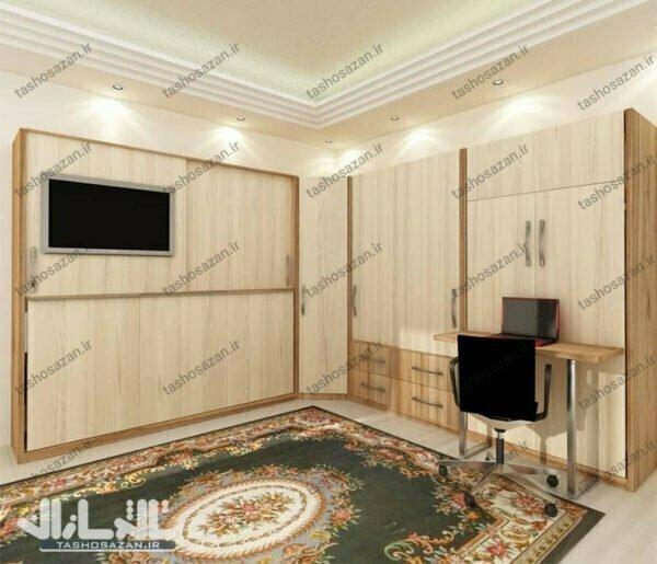 single wall bed horizontal tsh 9814